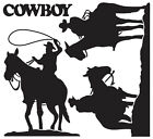 COWBOY Vinyl Mural Wall Art Deco Sticker Decal GS822