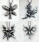 Choose one Little Fantasy Angel Fairy tail Heaven Story Pewter pendant Charm