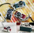 SO CUTE~!! MINI CAMERA MOBILE STRAP NECKLACE PENDANT