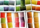 24m Wax Cotton Cord 12x2m.Lovely Assorted Colorful Sets