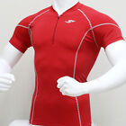 Take Five Mens Compression 101 Sports Top Red