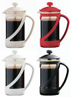 NEW Kenya Cafetiere Coffee Maker Glass Insert Plastic Ext.- 600ml/4 Cup Capacity
