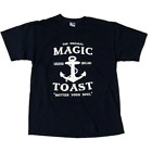 Magic Toast Anchor T-shirt Navy Magictoast