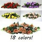 23 in Rose Swag Wedding Silk Flowers Spray Artificial Arrangements