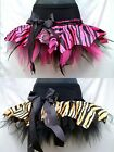 GIRLS TIGER ZEBRA PRINT TUTUS RARA SKIRT DANCE STAGE PARTY PAGEANT COSTUME