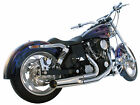 Harley Dyna Super Glide Wide Low Rider 2 into 1 Exhaust