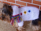 Yorkshire Terrier Hand Made Dog Sweater Clothing Avrge