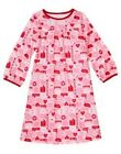 GYMBOREE VALENTINE'S DAY PINK HEARTS A/O NIGHTGOWN 2 3 4 5 6 7 8 10 12 NWT