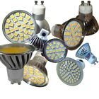 GU10  E14  MR16 / 20,24,60 SMD LED DAY & WARM WHITE WARRANTY Dimmable YES or NO
