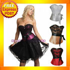 1692C Burlesque Moulin Rouge Corset  Top 8 10 12 1416