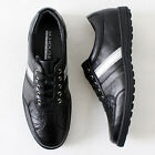 Mens Casual Lace up Fashion Sneakers Black