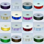 Full roll 25mx25mm Double Faced Satin Ribbon all colours