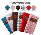 Teddy Cute & Simple Designed Credit Card Case Wallet