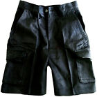 US POLICE SHORTS COMBAT SHORTS XS - XXL Dark blue hard wearing cargo 100% cotton