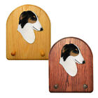 Borzoi Dog Breed Figure Key-Leash Holder. Home Decor Dog Products & Gifts.
