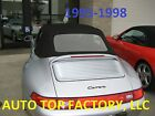 911, 993 CONVERTIBLE TOP - BLACK WITH PLASTIC WINDOW FITS PORSCE 1995-1998