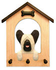 Skye Terrier Dog House Leash Holder. In Home Wall Decor Products & Dog Pet Gifts