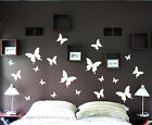 19pcs Butterflies Butterfly set wall art vinyl decal Removable kitchen bedroom