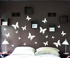 19pcs Butterfly set removable vinyl wall decals