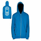 NEW Airblaster Airpill Hooded Sweatshirt Blue, Brown, Hot Green