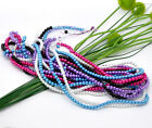 200 x Round Glass Pearl Beads 4mm - Choose Colour