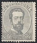 Spain stamps 1872 YV 122  MLH  VF