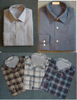 New Mens Shirt - 100% Cotton Oxford Weave Long Sleeve Shirt - Excellent Quality