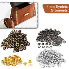 100 Eyelets in Size 200 - 4.2mm in Silver & 7 other Colours available