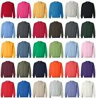 JERZEES NEW Mens Size 2XL-4XL Pullover Nu Blend Crewneck Sweatshirt Jumper 562