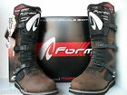 NEW BROWN FORMA BOULDER TRIALS BOOTS (ALL SIZES) TRAIL BETA MONTESA GAS GAS HEBO