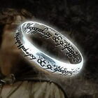 Solid sterling silver.925 One Ring of power Lord of the Rings LOTR film movie