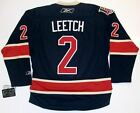 BRIAN LEETCH NEW YORK RANGERS REEBOK PREMIER THIRD 85th ANNIVERSARY JERSEY