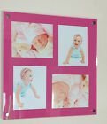 "ACRYLIC 24x24"" x10mm wall acrylic /perspex PICTURE PHOTO  FRAME for 4x 10x8"""