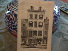 ORIG 1861 Raising of House White Street NYC New York City Lithograph