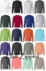 Hanes Mens Long Sleeve Cotton Beefy-T T-Shirt 5186 S-3XL NEW