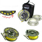 GREYS GX700 4/5/6 CASSETTE FLY REEL, TROUT FISHING   *FREE LINE FITTED*