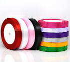 "25 Yards / 22 Meters Satin Ribbon - 1"" / 24mm wide - choose colour"