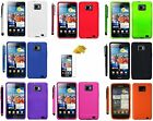 SILICONE GEL SERIES CASE STYLUS & SCREEN PROTECTOR FITS SAMSUNG GALAXY S2 i9100