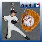 MLB NEW YORK YANKEES DEREK JETER FIGURE & HELMET OR LOGO BASE CEILING FAN PULLS