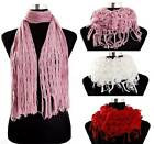 Extremely Soft Knitted Ladies Snood Scarf - 2 Ways to Wear - Free postage