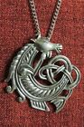 Celtic Horse Seahorse Pentant Kelpie Endless Knot Irish Silver Pewter Necklace