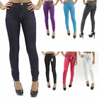 New Knit Denim Look Quality Soft Feel Stretch Light Weight Jeggings S-3XL PL015