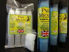 WESTMORE PVA MESH NARROW 25mm For Carp Stocking Rig Bait Bags Boilie Pellet mix