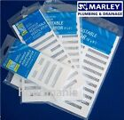 Adjustable MARLEY White Ventilation Grille Extraction Wall Air Vent Fly Screen