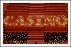Poster/Affiche. Photo. Casino sign, Las Vegas, Nevada. Neuf.