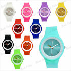 24cm Fashion Wrist Unisex Watch Silicone Wholesale Jelly Candy Sport Dial Quartz