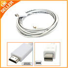 Mini Display Port Displayport DP Male to HDMI M Cable Adapter For MacBook Pro