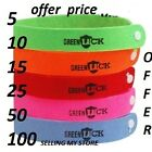 10 xANTI MOSQUITO BUG REPELLENT WRIST BAND BRACELET INSECT BUG LOCK CAMPING MOZZ