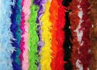 6 Ft Long Feather Boas in 16 Color Options!  Great for Parties, Crafts, and Fun!