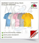 5x FRUIT OF THE LOOM T-Shirt Gr S M L XL XXL sofort verfügbar TOP